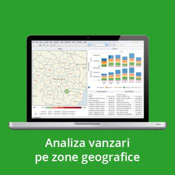 Business Intelligence - Analiza vanzari pe zone geografice