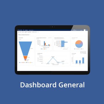 CRM online - Dashboard General