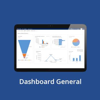 CRM online - Dashboard General