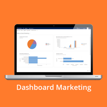 CRM online - Dashboard Marketing