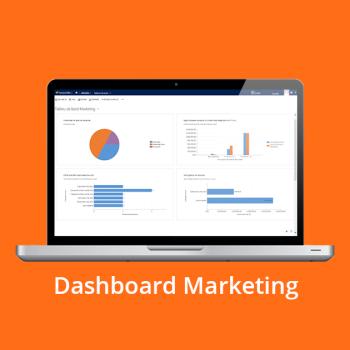 CRM online - Dashboard Marketing