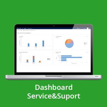 CRM online - Dashboard Service&Suport