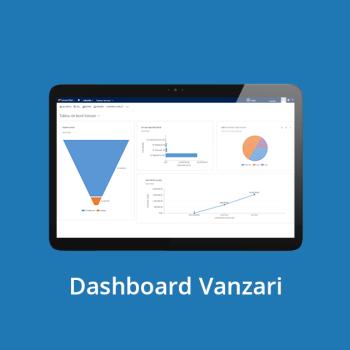 CRM online - Dashboard Vanzari
