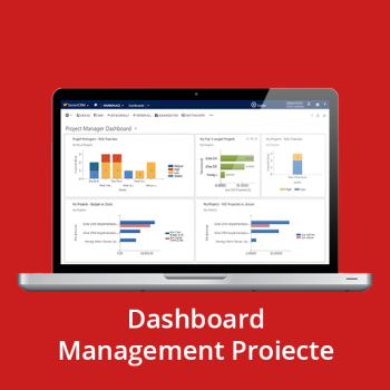 CRM online - Dashboard Management Proiecte