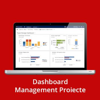 CRM online - Dashboard Management Proiecte