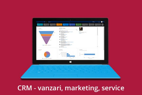 CRM – vanzari, marketing, service