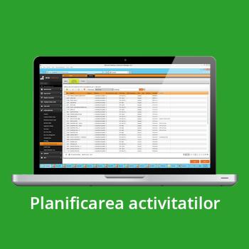 SFA - planificarea activitatilor
