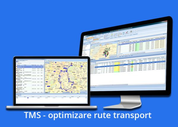 TMS – optimizare rute transport