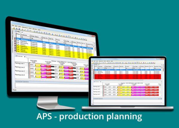 aps - planificare productie cu text - engleza