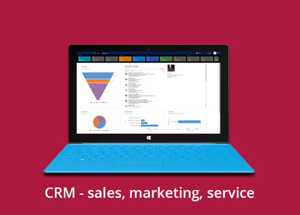 CRM – sales, marketing, service