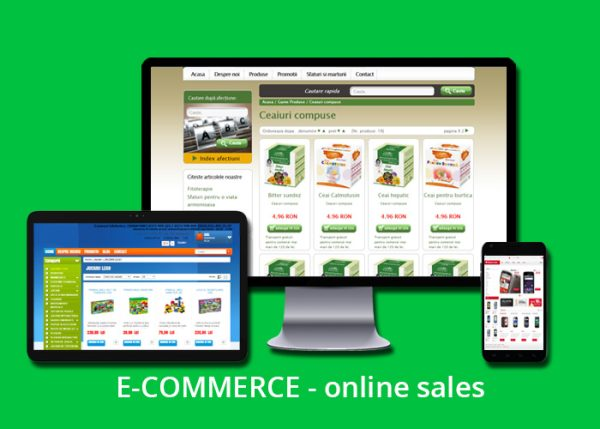 e-commerce cu text - engleza