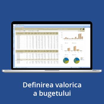 Definirea valorica a bugetului