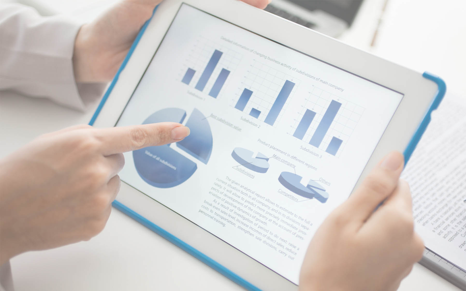 seniorvisualbi business intelligence system reports