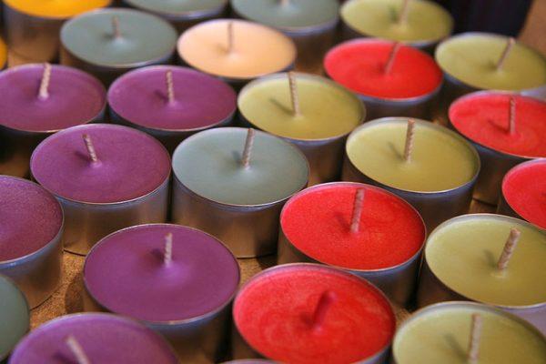 light candel art hover