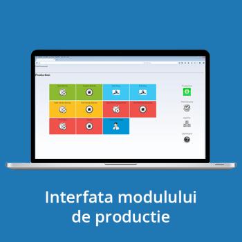 Interfata modulului de productie
