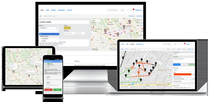 software transport managementul complet al livrarilor