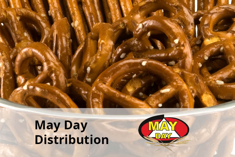 may day distribution client senior software