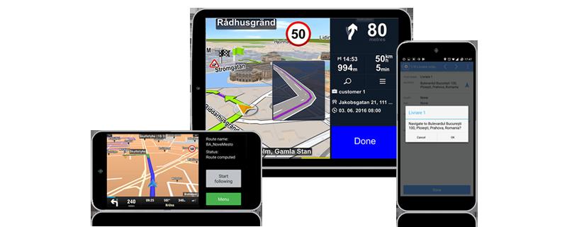 software transport navigatie profesionala