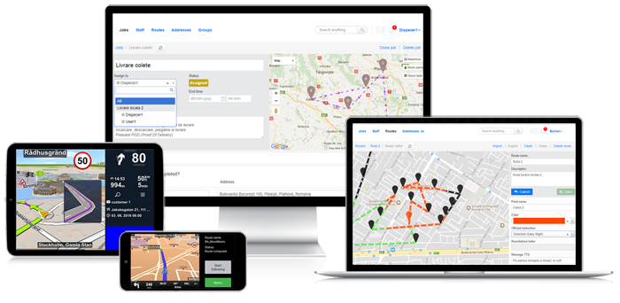 planificare rute transport colaj lp conversie