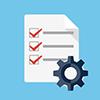 icon Analizele si rapoartele pot fi generate printr-o simpla cautare