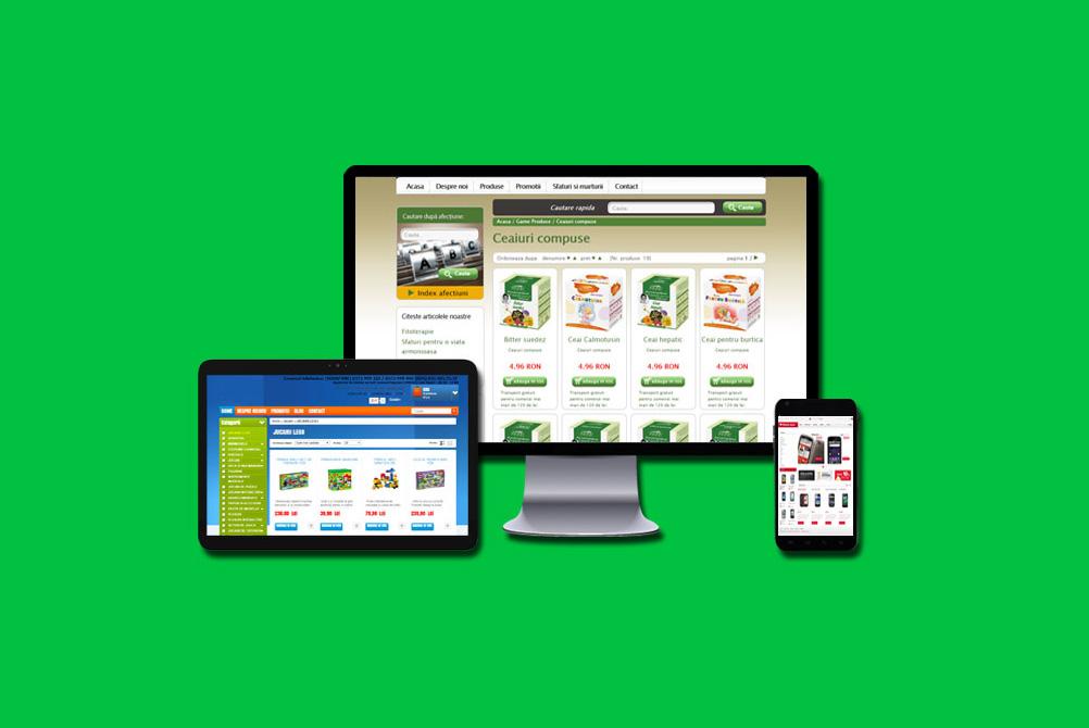 E-COMMERCE – platforma vanzare online