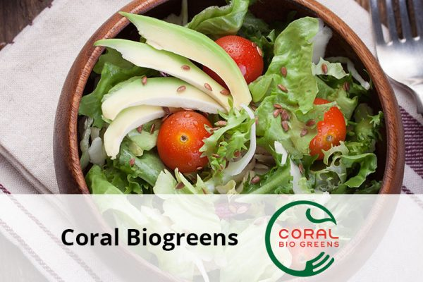 Coral Biogreens senior software clienti
