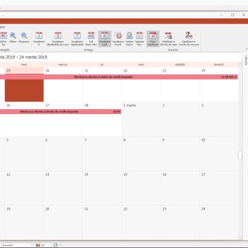 SeniorERP - Calendar