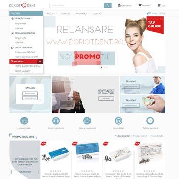 doriot dent implementare ecommerce romania magazin online