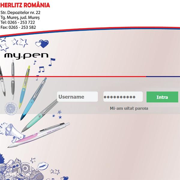 herlitz b2b implementare ecommerce romania magazin online