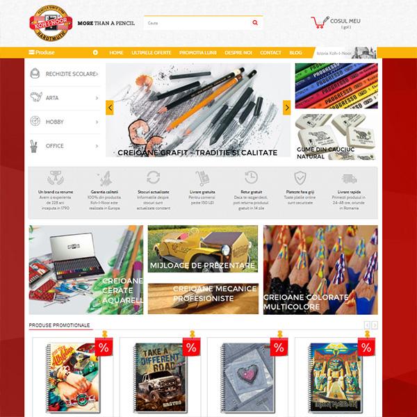 koh-i-noor implementare ecommerce romania magazin online