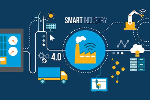 infografic industry 4.0 imagine resurse