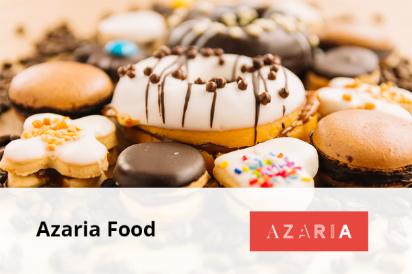 Azaria Food Logo
