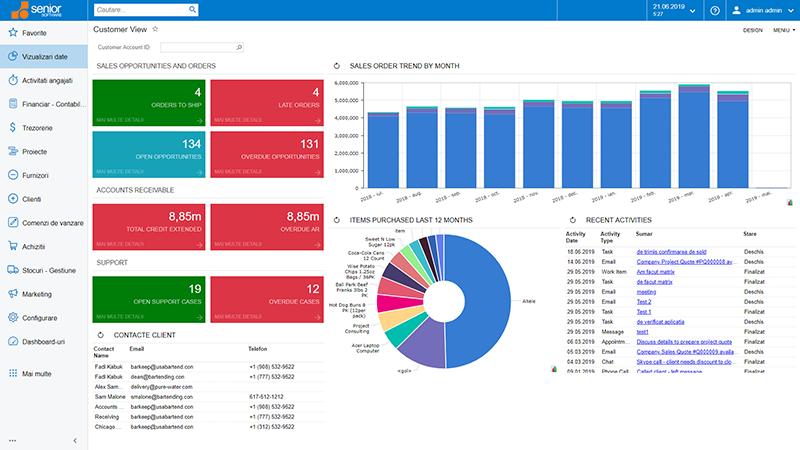 sisteme software pentru Distributie erp wms e-commerce sfa crm