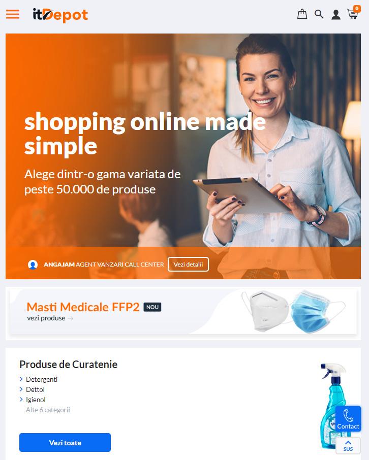marketplace comert electronic magazin online ecommerce