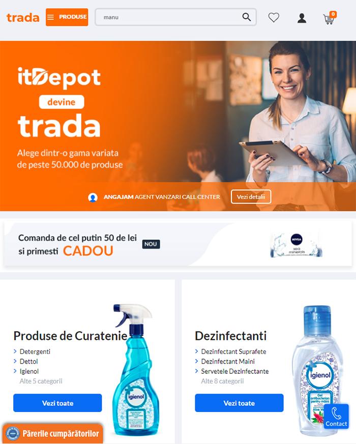 marketplace trada ecommerce senior software