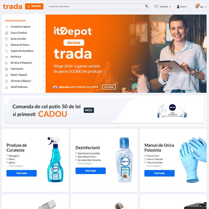trada marketplace beneficii magazin online