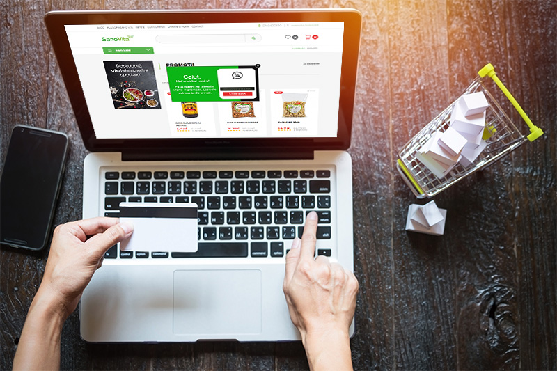 ecommerce romania platforma b2b business to business vanzari magazin online