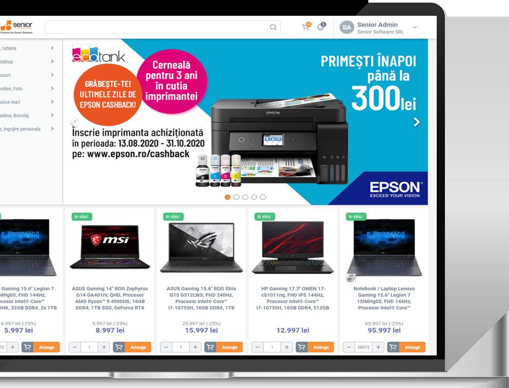 rocast client senior software ecommerce b2b business to business platforma romania