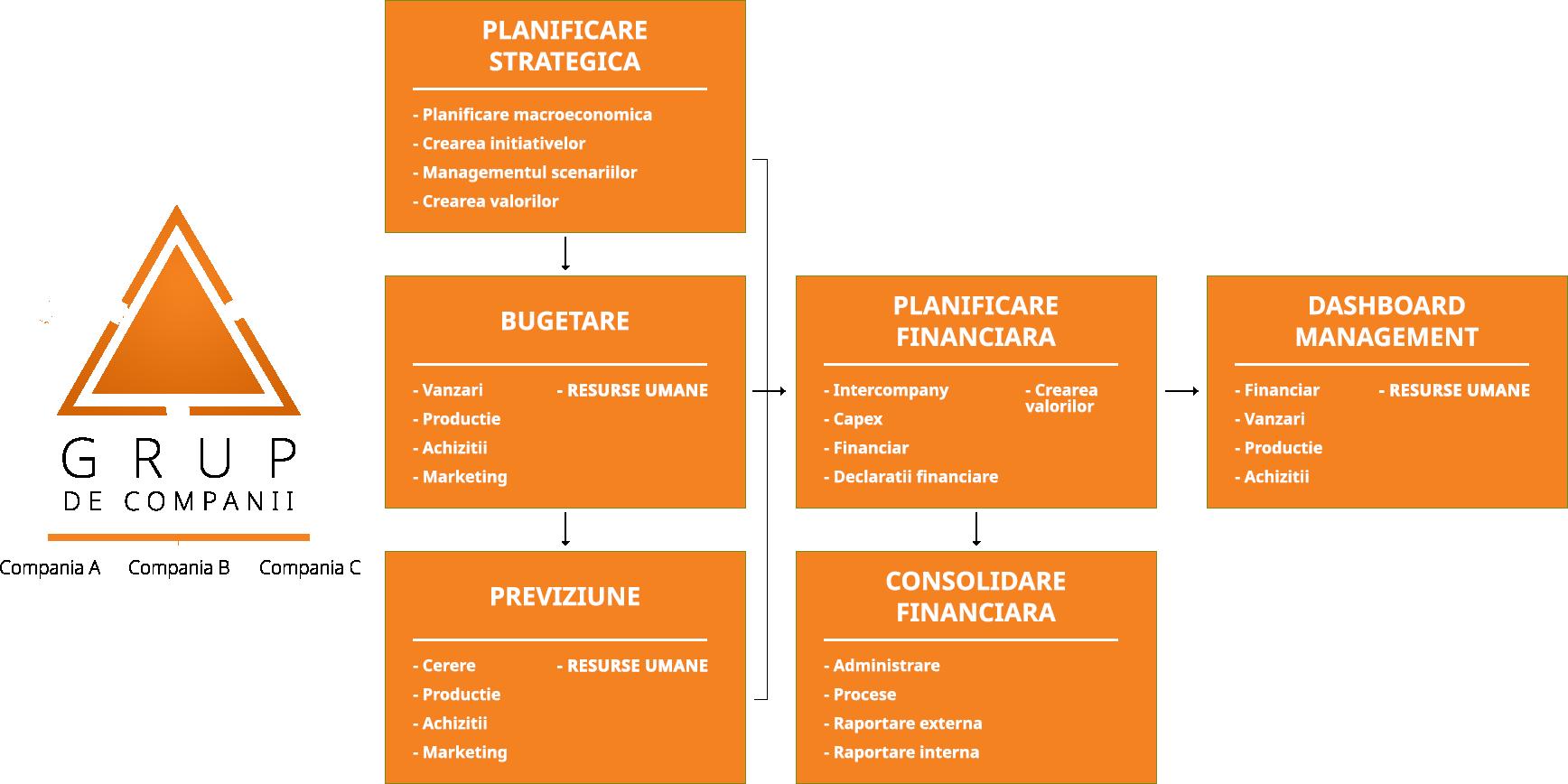 Planificarea integrata a afacerii cu CPM EPM managementul performantei bugetare board