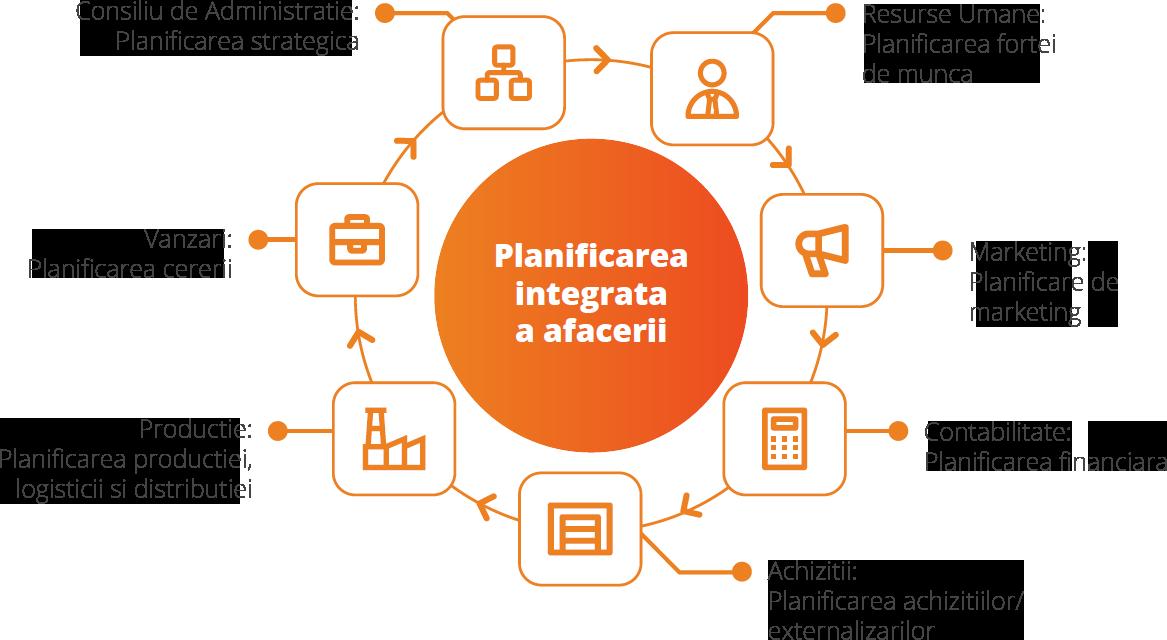 Planificarea integrata a afacerii pe departamente kpi indicatori performanta