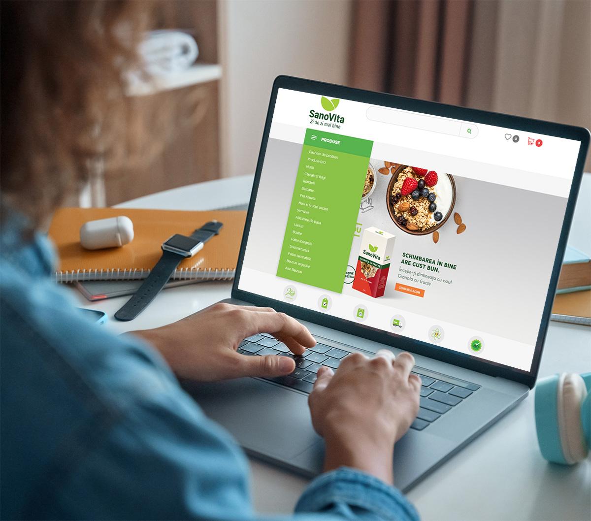 Ecommerce - Vanzare Online pentru productie si producatori b2b b2c platforma