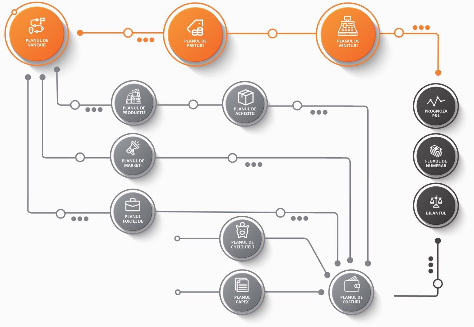 bpm cpm software bugetare financiar performance management vanzari spm schema