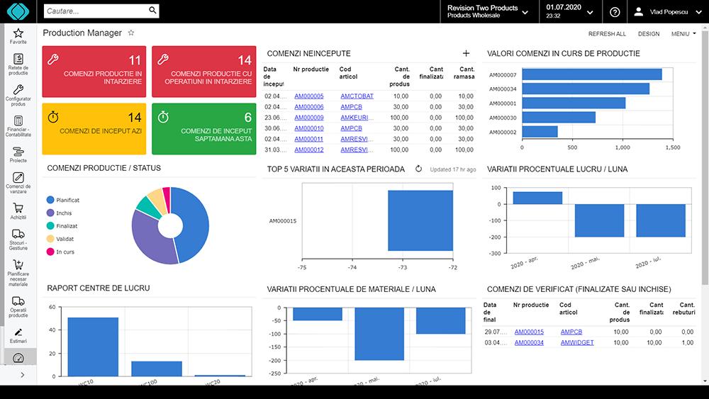 erp servicii crm wms screenshot aplicatie sistem romanesc