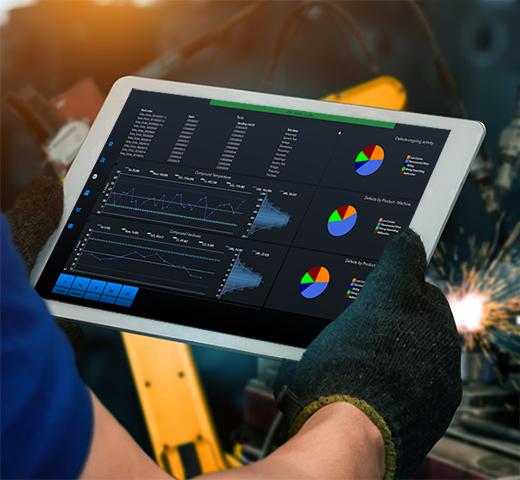 Managementul fabricii in era Industry 4.0 automatizare productie sisteme software integrate romania