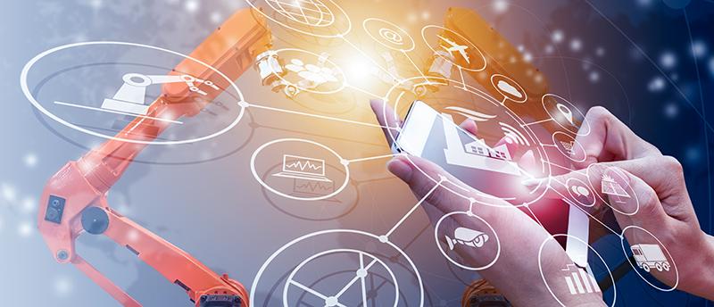 Alege digitalizare productie prin Industry 4.0 transformare digitala cu aps si mes